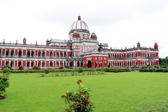 Cooch Behar Palace, ook genoemd Victor Jubilee Palace Stock Foto's