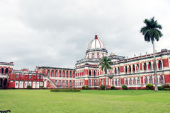 Cooch Behar Palace som kallas också Victor Jubilee Palace Arkivbilder