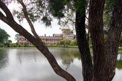 Cooch Behar Palace som kallas också Victor Jubilee Palace Royaltyfri Foto