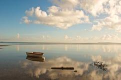 Coochiemudloeiland van de kust van Australië royalty-vrije stock foto