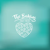 Coockie of bakery food design Stock Image