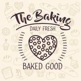 Coockie of bakery food design Stock Photos