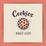 Coockie of bakery food design Royalty Free Stock Image