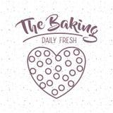 Coockie of bakery food design Royalty Free Stock Photo