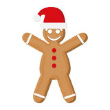 Coockie of Christmas season design Royalty Free Stock Photos