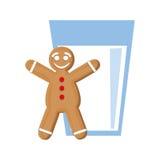 Coockie of Christmas season design Stock Image