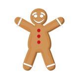 Coockie of Christmas season design Royalty Free Stock Images