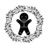 Coockie of Christmas season design Royalty Free Stock Photography