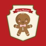 Coockie of Christmas season design Stock Photo