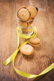 Coockies in glass Royalty Free Stock Photo