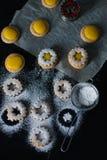 Coockies Linzer Стоковые Изображения