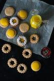Coockies Linzer Стоковое Изображение RF
