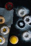 Coockies Linzer Стоковая Фотография RF