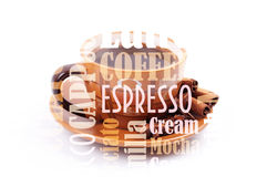 Cooffe background Stock Photos