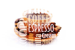 Cooffe background Royalty Free Stock Photos