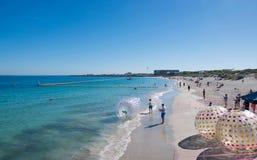 Coogee海滩节日场面 免版税库存图片