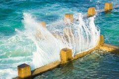coogee Сидней пляжа стоковое изображение rf