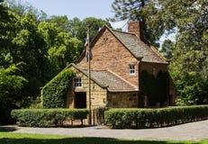 Cook上尉的原始的家在墨尔本 免版税库存图片