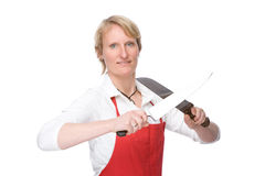 The cook Stock Image