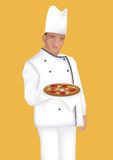 Cook. This image is a vector illustration and can be scaled to any size without loss of resolution Royalty Free Stock Photography