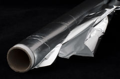 Cook Aluminum Foil Stock Photo