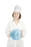 Cook asian woman Stock Photo