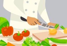 Free Cook Background Illustration Stock Images - 76954024
