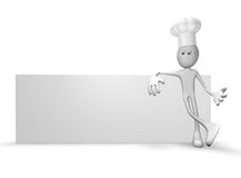 Cook banner Stock Photo