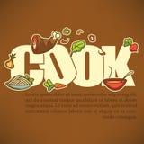 Cook banner Stock Photos
