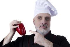 Cook with a beard Stock Photos