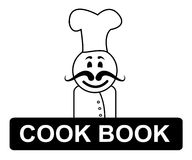 Cook Book Chef Represents Cooking In Kitchen And Chefs Stock Photos