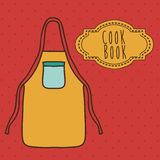 Cook book design Stock Photo