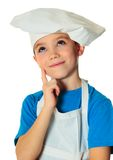 Cook boy Stock Images