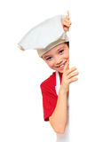 Cook boy on Royalty Free Stock Photography
