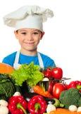Cook boy Stock Photos
