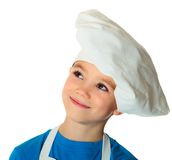 Cook boy Royalty Free Stock Photos