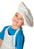 Cook boy Royalty Free Stock Images