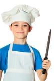 Cook boy Royalty Free Stock Photos