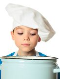 Cook boy Stock Image