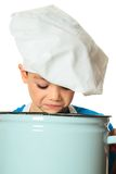 Cook boy Royalty Free Stock Photography
