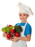 Cook boy Royalty Free Stock Image