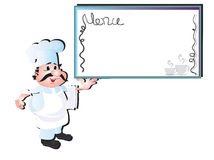 Cook chef Royalty Free Stock Photography