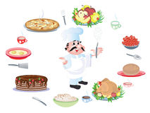 Cook chef Stock Image