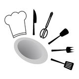 Cook design Royalty Free Stock Photo