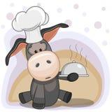 Cook Donkey Royalty Free Stock Image