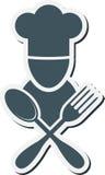 Cook emblem Royalty Free Stock Photos
