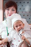 Cook Family Royalty Free Stock Photography