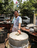 Cook in farmhouse enjoyment in chengdu,china Stock Photos