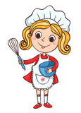 Cook girl Royalty Free Stock Photo