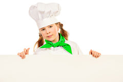 Cook girl Stock Photography